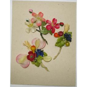 WHW - 3 Wachspapierblumen