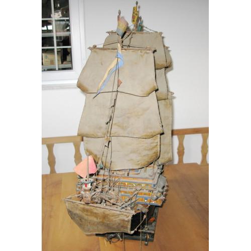 Historisches Schiffsmodell , HENRY GRACE A DIEU