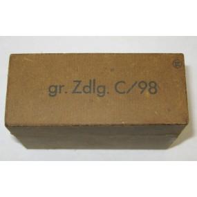 Wehrmacht Verpackung für gr. Zdlg. C/98