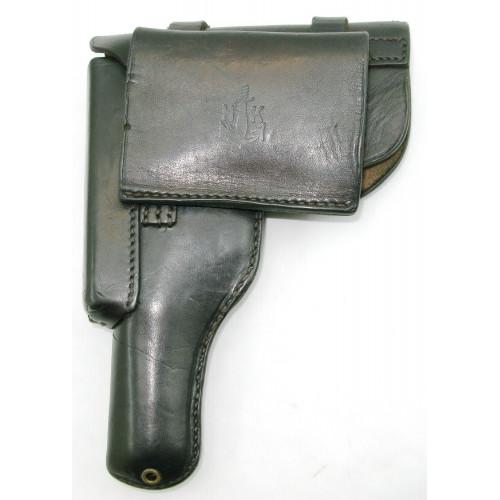 Luftwaffe Pistolentasche und Reservemagazin für FN 10/22
