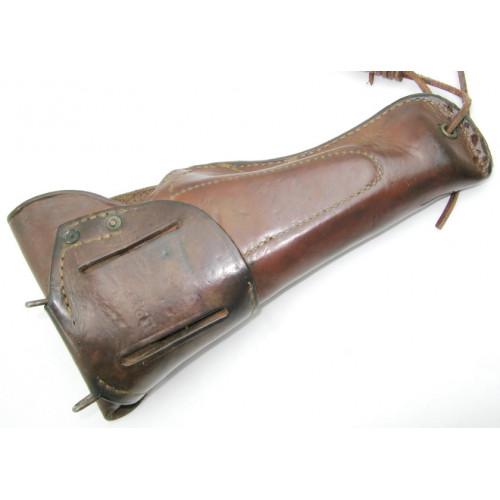 Original U.S. WWII .45 M1916 Boyt 1942 Leder Holster