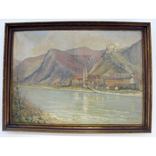 Josef Felsinger, Blick auf Dürnstein
