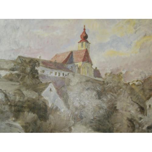 Othmar Ruzicka, Stiefern am Kamp