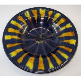 Wachauer Keramik, 1 großer Teller