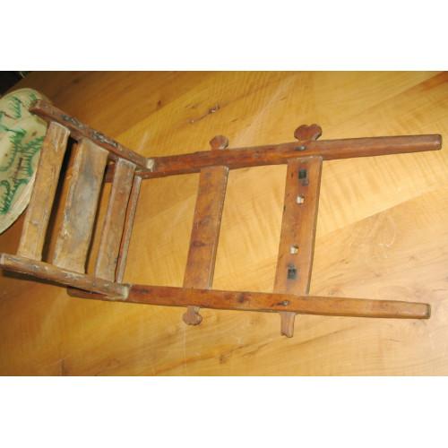 Antike Rückentrage, Buckelkraxe, Krax´n, mit Bauernschüssel