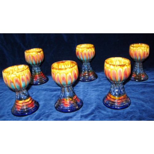 Wachauer Keramik, 6 Römerbecher