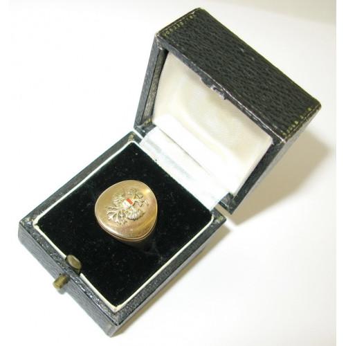 Goldener Ehrenring