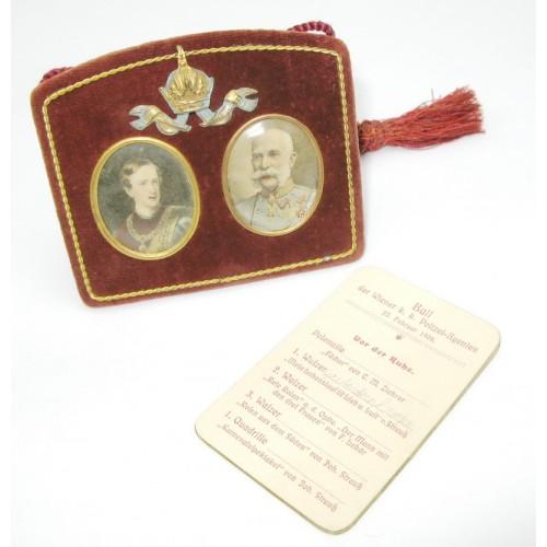 Ballspende, Ball der Wiener k. k. Polizeiagenten 1908