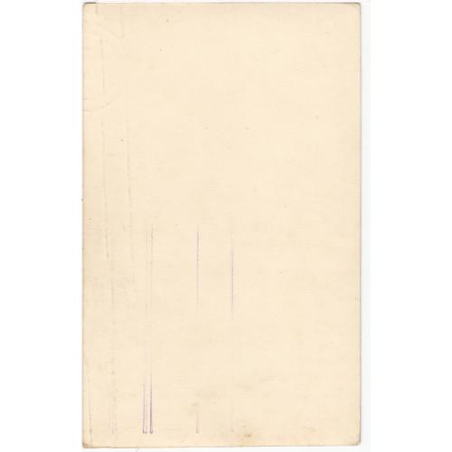 Autogrammkarte, Heinz Woester