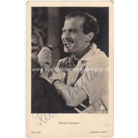 Autogrammkarte, Rene Deltgen