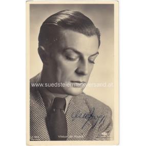 Autogrammkarte, Viktor de Kowa