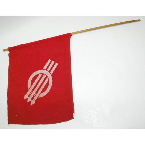 Erste Republik bzw. Ständestaat, Handwimpel der SPÖ