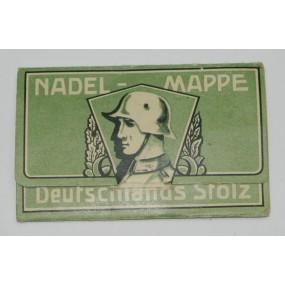 Wehrmacht Deutschlands Stolz Nadel - Mappe