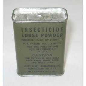 US WW2 Insecticide louse powder