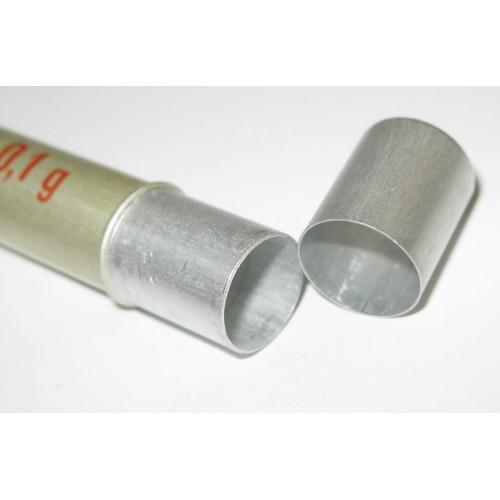 Wehrmacht Sanitäter DRK Aluminiumröhrchen Cardiazol 0,1 g