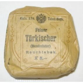 k.k. Österreichische Tabak Regie, Feiner Türkischer Rauchtabak