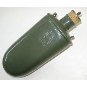 WWI Austrian Canteen Emaillierte Feldflasche, R.ésT. LOSONCZ, 1918, MD 2 K
