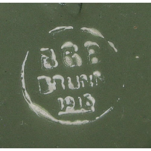 WWI Emaillierter Trinkbecher BGB BRÜNN 1916