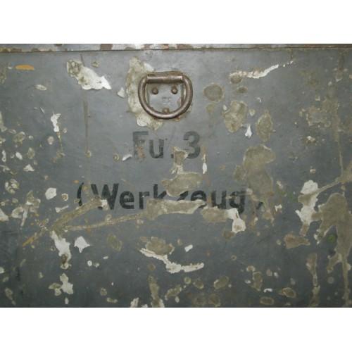 Wehrmacht Funk Fu 3  Blechkiste für Werkzeug