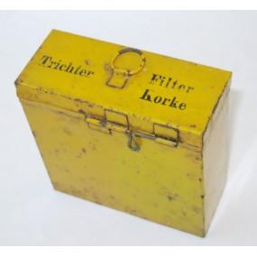 Wehrmacht Sanitätszubehör Behälter für Trichter/Filter/Korke