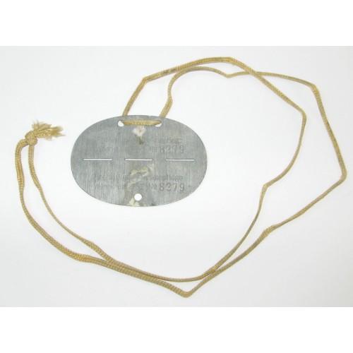 WWII Erkennungsmarke Freiwillige Krankenpflege Wehrkreis XVII