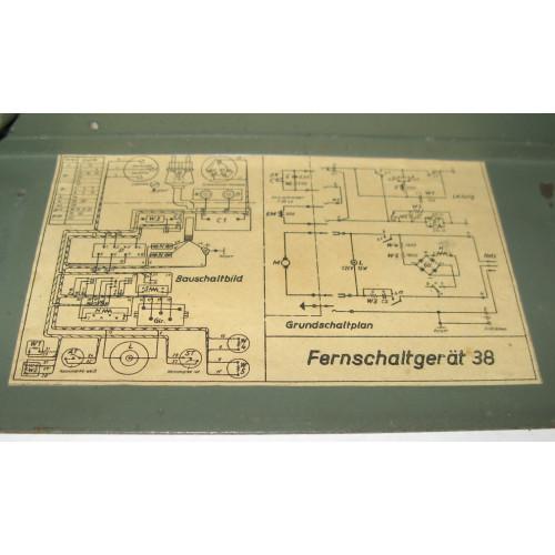 Wehrmacht Fernschaltgerät 38