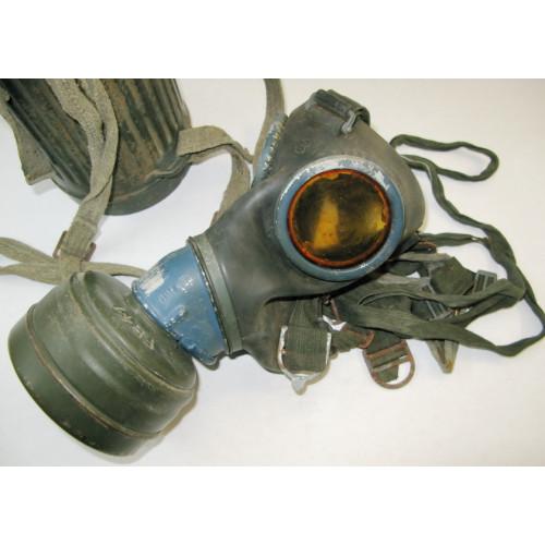 WH/LW Gasmaske in Dose