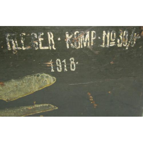 k.u.k. Luftfahrtruppe, Fliegerkompanie Nr. 30  1918