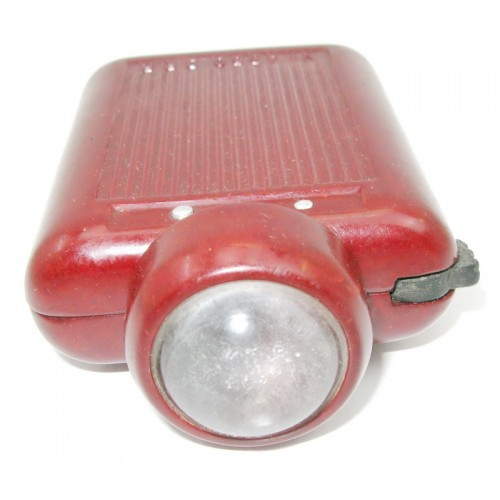 Militärische Taschenlampe ZEILER D.R.P. Nr. 4350