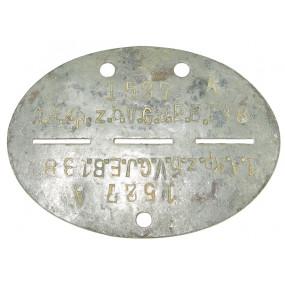 Wehrmacht Erkennungsmarke, 1.A.Kp.z.b.V.G.J.E.B.138