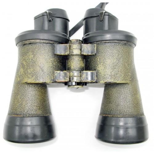 Kriegsmarine Doppelfernrohr / U-Boot Fernglas 7 x 50 blc Carl Zeiss Jena