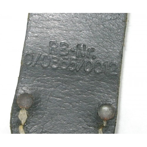 Koppelschuh für das Seitengewehr 84/98 R.B.Nr.0/0365/0012