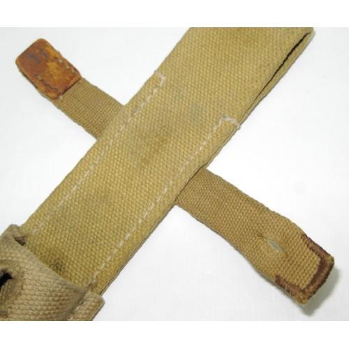 Koppelschuh für das Seitengewehr 84/98 in Tropenausführung