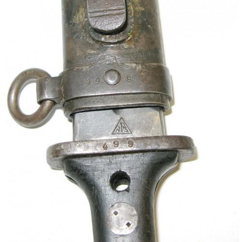 Jugoslawisches Dolchbajonett M 1924 CK.