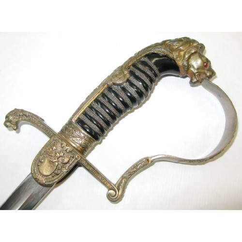 Preußen Artillerie Säbel für Offiziere