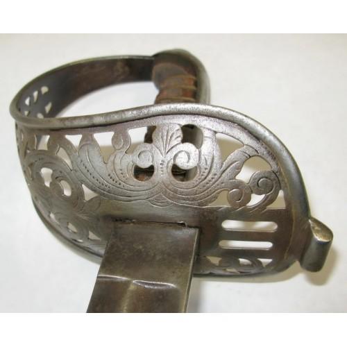 Säbel für Offiziere der k. u. k. Kavallerie M1869