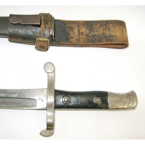 Bajonett zum portugiesischen Kropatschek-Gewehr M1886