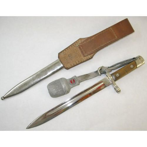 1. Republik Bajonett M 1895, BESTSCHIESSEN GRAZ 1931