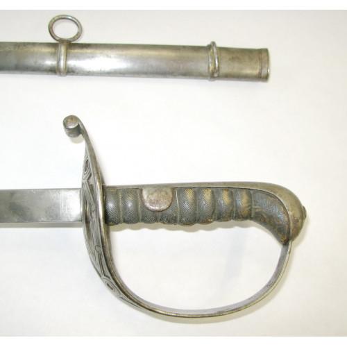 Österreich, Säbel M 1861 für Offiziere der Kavallerie