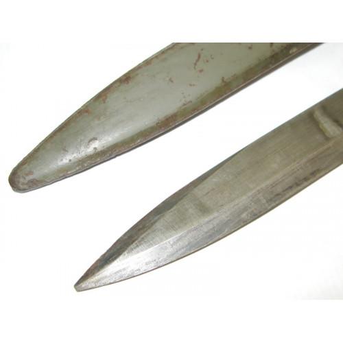 Österreichisches Bajonett/Ersatzseitengewehr/Notbajonett für das Mannlicher Gewehr M.1888/90