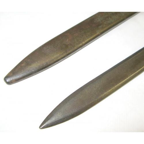 Bajonett/Ersatzseitengewehr/Notbajonett für das italienische Mannlicher-Carcano Gewehr M. 1891
