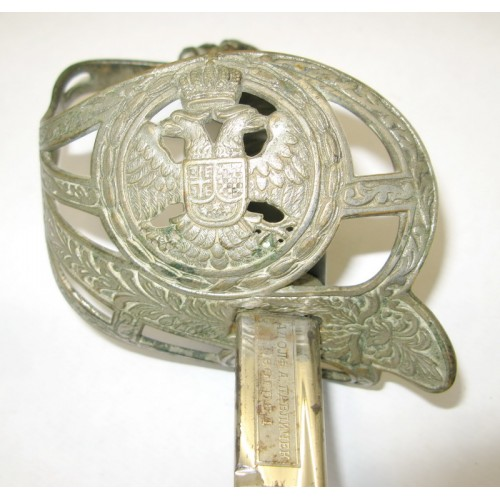 Jugoslawien, Säbel für Offiziere, Königreich SHS M.1920