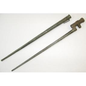 Österreichisches Ersatzseitengewehr/Tüllenbajonett für Mosin-Nagant Gewehr M. 1891
