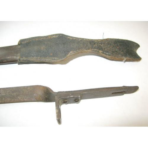 Österreichisches Bajonett/Ersatzseitengewehr/Notbajonett für das Mannlicher Gewehr M.1895