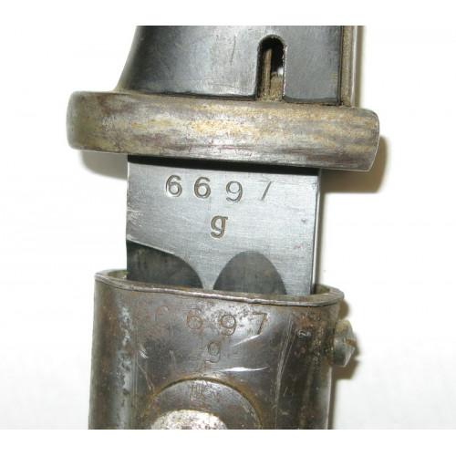 Seitengewehr 84/98 CARL EICKHORN 1940