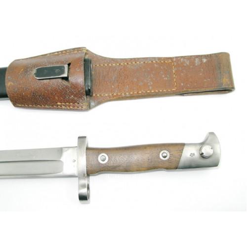 Rumänisches Bajonett für das Mannlicher Gewehr M.1893 OEWG STEYR