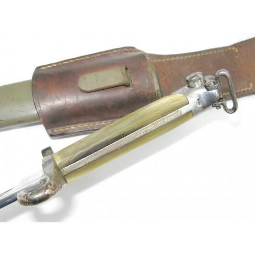 Österreichisches Bajonett M 1895 mit Beingriff