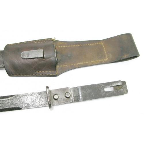 Österreichisches Bajonett/Ersatzseitengewehr/Notbajonett für das Werndl Gewehr M. 1867/1877, M. 1873/1877