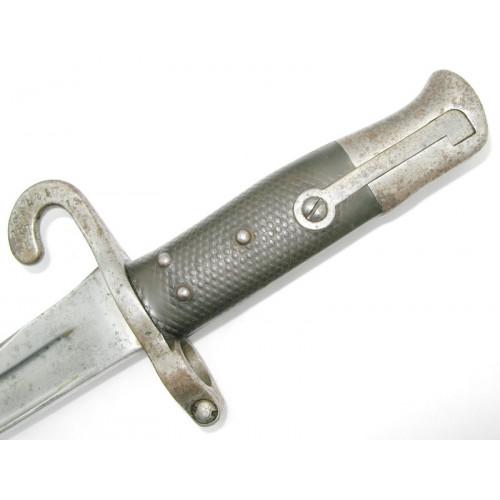 Österreichisches Säbelbajonett M. 1870 für Werndel Gewehre