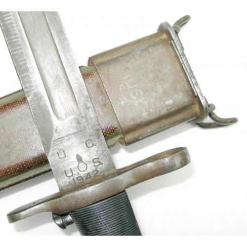 Original U.S. WW2 M1942 M1 Garand Bajonett